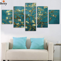 Handpainted Modern Abstract Flower Canvas Art Decoration Of Oil Painting HD Large Image Printed On Canvas