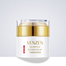 50g VENZEN six peptide face cream whitening Vitamin E anti-wrinkle nourishing herbal skin lightening moisturizer DAY NIGHT CREAM