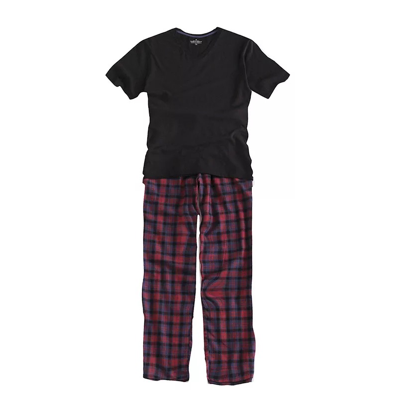 Plus Size 100% Cotton Pyjamas Men Pijama Hombre Masculino Short-sleeve Casual Mens Sleepwear Pijamas Pajamas Sets For Male 100kg