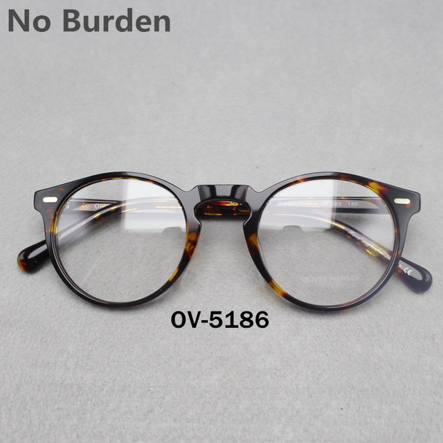Vintage optical glasses frame No Burdenoliver peoples ov5186  Gregory peck  for women and men eyewear frames FREE SHIPPING