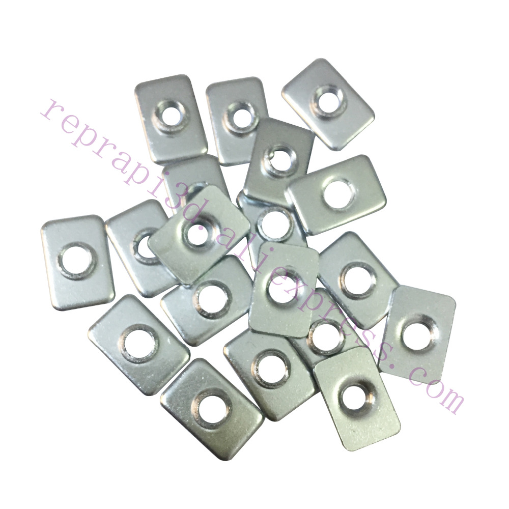 100pcs Openbuilds T-Nut Tee Nut M5 M3 for V-slot , OX CNC, 3D Printer Aluminum Extrusions frame use
