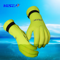 Hisea Diving Gloves Mittens Anti slip Neoprene Keep Warm Swimming Gloves Anti scratch Fishing Scuba Diving Gloves Thermal