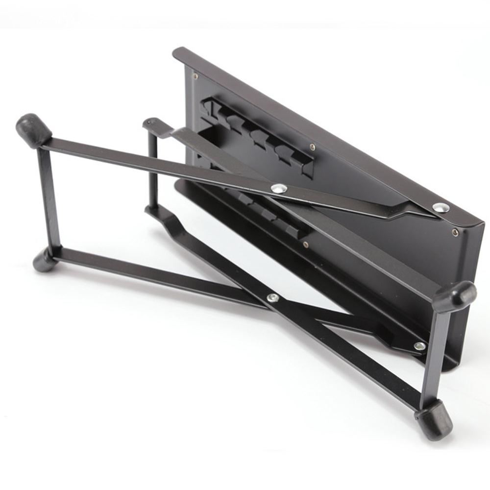 Metal Folding Guitar Pedal Black Guitar Parts For Acoustic Guitar Footrest Footboard Mini Pedals Musical Instrument