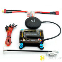 APM 2.8 Flight Controller with Shock Absorber NEO 6M GPS /NEO M8N GPS 5V 3A Power Module T Plug Remote Controller FPV