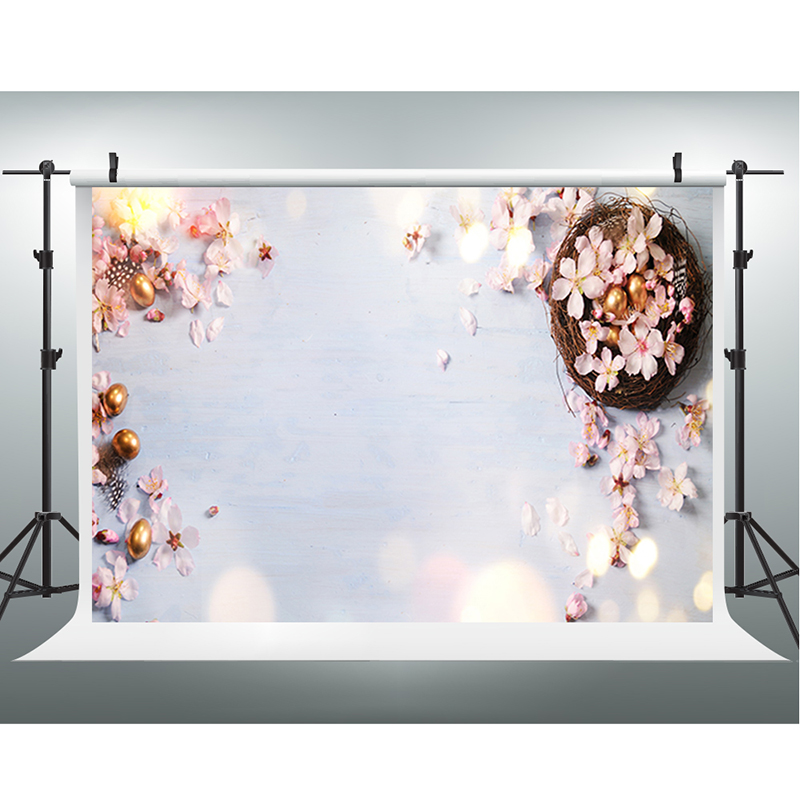 Easter Photography Backdrops Golden Easter Egg Photo Booth ...