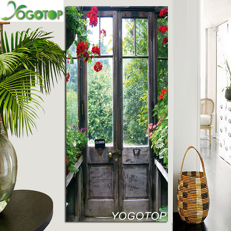 Arts,crafts & Sewing Home & Garden Gentle Yogotop Full Diamond Embroidery Door Diy Diamond Painting Natural Landscape Handmade Drill Mosaic Crafts Christmas Gift Qa694