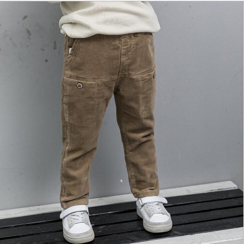 Essentials Boys Straight Leg Flat Front Uniform Chino Pant Bambino