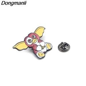 Image 2 - 30pcs/lot Wholesale DMLSKY Animal Pins Metal Badge Cartoon Kawaii Pins Icon on The Backpack Pin for Clothing M2587