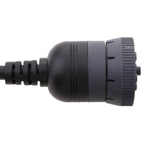 Image 5 - Truck Error Fixing 9 Pin to 16 Pin OBD2 OBDII Scanner Cable Adapter adaptateur de cable Adaptador de cable