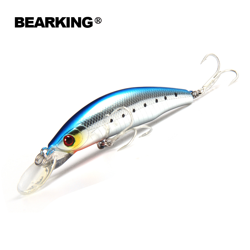 Retial quality bait A+ fishing lures,85mm 15g Bearking  different colors,crank minnow popper hard bait  2017 hot model retail fishing lures assorted colors minnow crank 80mm 5 5g 2017 hot model crank bait 3d eyes artificial lures zb26