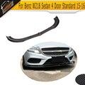 CLS углеродное волокно  передний бампер  спойлер для Mercedes Benz W218  седан  4 двери  стандарт  только 15-16 CLS550 CLS400