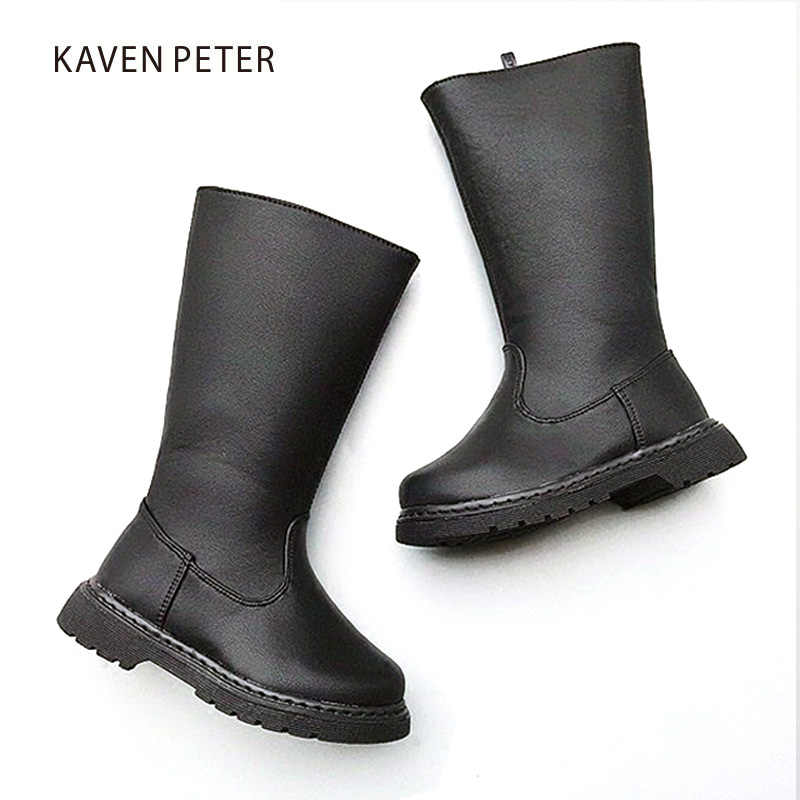 2018 Motorcycle boots kids Knee High