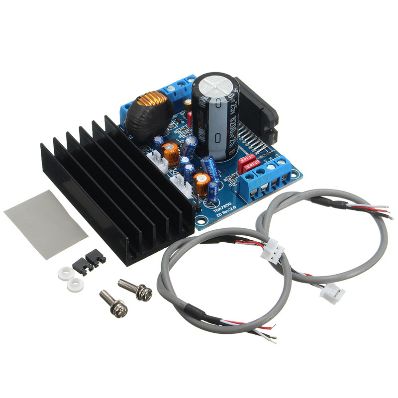DC 12V 4 50W TDA7850 Car Audio Power Amplifier Board Stereo BA3121 Denoiser Amplifier Boards