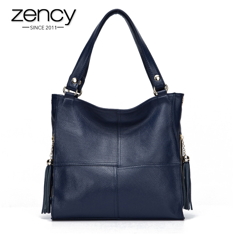 Most Popular Tassel Fashion Designer Genuine Leather Women Messenger Bag Luxury