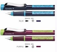 Frete grátis alemanha schneider caneta nova série champanhe caneta 0.5mm adulto estudante caligrafia caneta presente caixa Canetas tinteiro     -