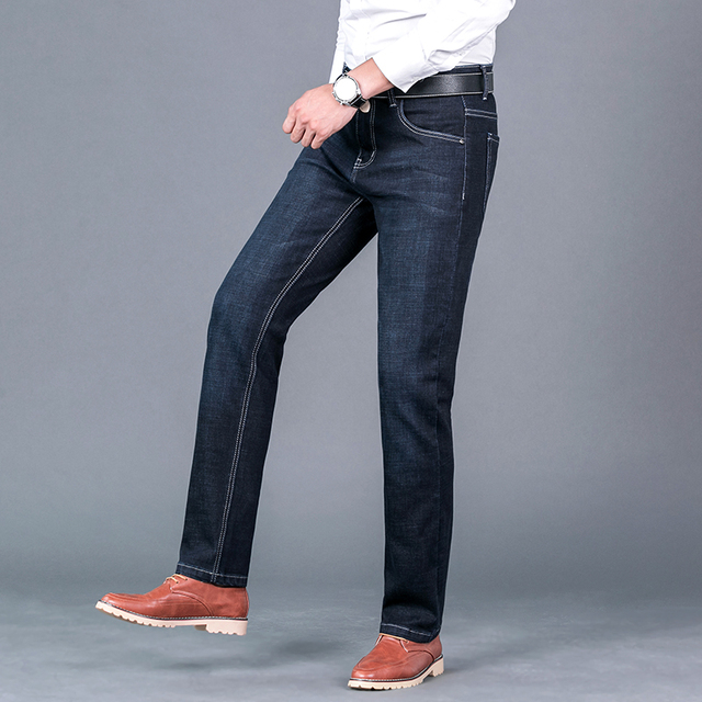 Men's Straight Casual Jeans 1