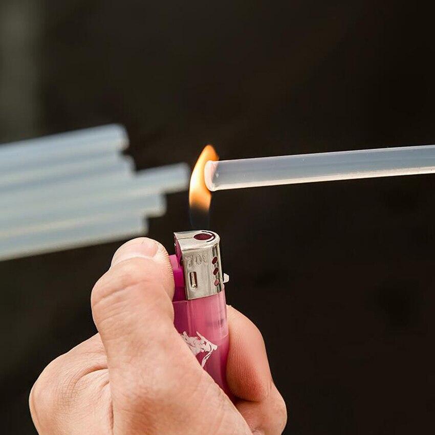 DIY 10pc 11mm High Viscosity Hot Melt Glue Stick For Heat Glue Gun High Viscosity 11x100/200mm Adhesive Glue Stick Repair T