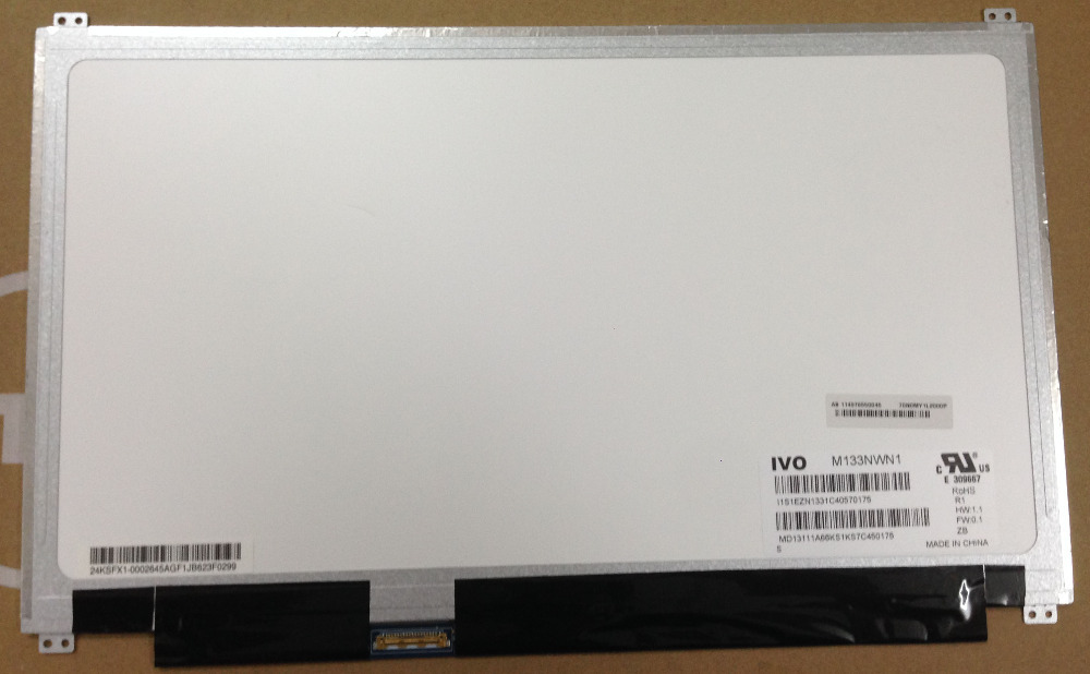Free shipping M133NWN1 R1 13.3 LED Laptop Screen 30 PIN EDP 1366X768 LCD Panel Replacement NEW original lcd for huawei p7 ascend lcd display touch screen assembly 5 inch lcd replacement without frame free tools