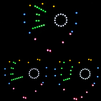 led music New mp3 music player heart-shaped lights cubeed,Music spectrum kit ,led electronic diy kit  (4)