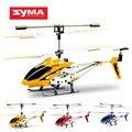 Original Syma S107G 3.5CH con el Girocompás de Radio Mini Cubierta de Metal Coaxial RC Helicoptero Aviones de Control Remoto Aviones No Tripulados juguetes