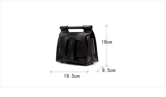 2017 New classic retro buckle messenger bags lady tote split leather handbags vintage women crossbody bags for female qn050