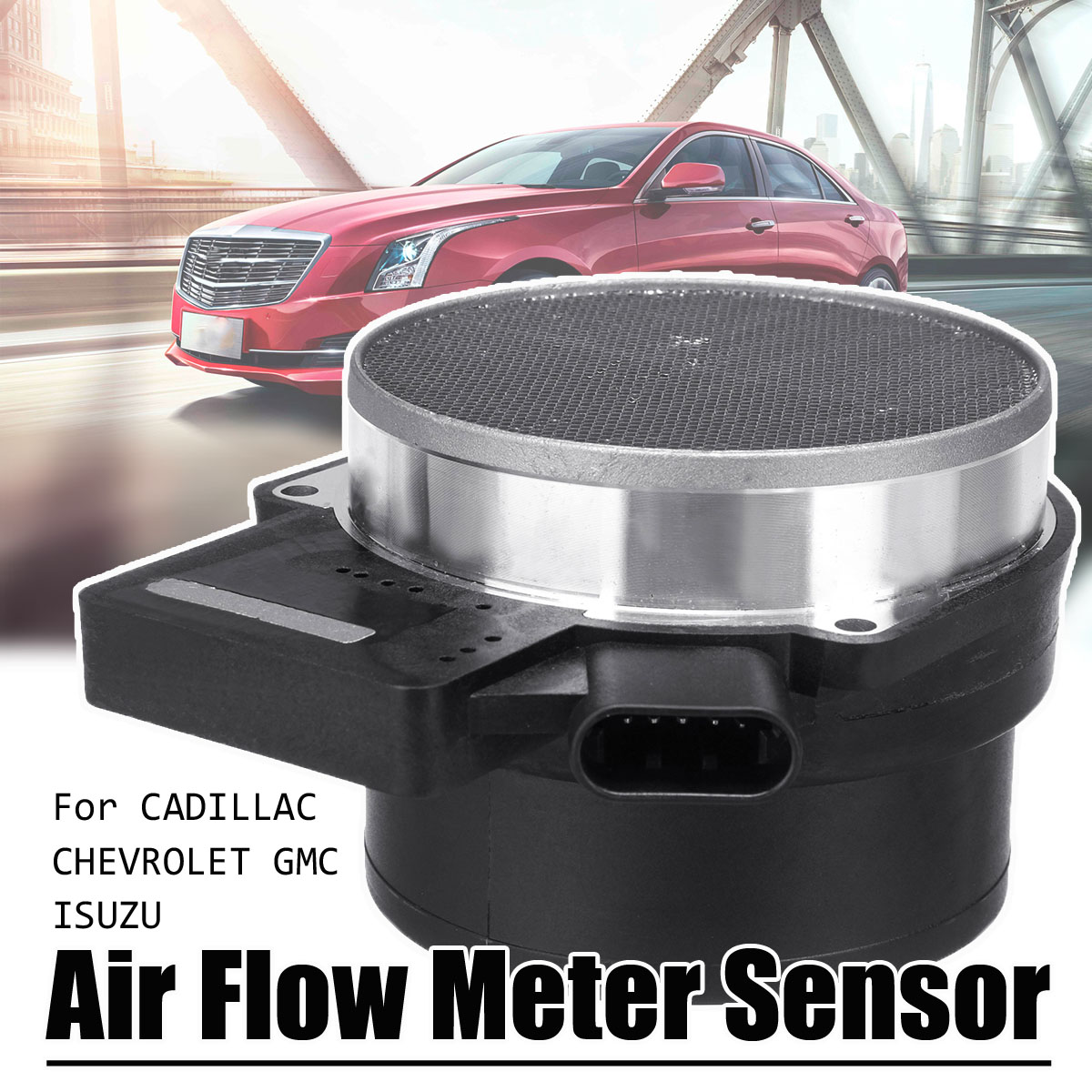 MAF Mass Air Flow Meter Sensor for Chevrolet for Cadillac for GMC ISUZU 25318411 Auto Replacement Parts Air Flow Meter