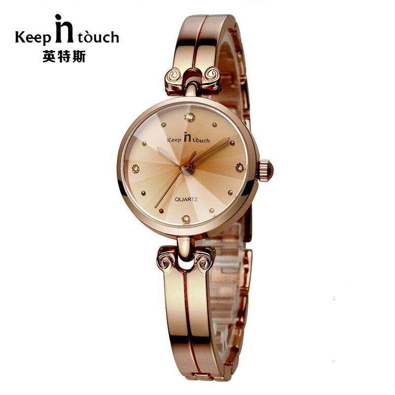 Famous Brand Women Watches Rose Gold Crystal Luxury Bracelet Ladies Watch 2018 New Fashion Classic Wristwatches Relogio Feminino