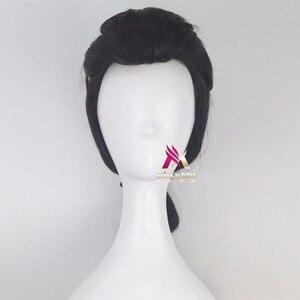 Image 2 - Biamoxer יופי והחיה נסיך גסטון פאה שחור קצר פאת קוספליי ליל כל הקדושים תפקיד לשחק שיער