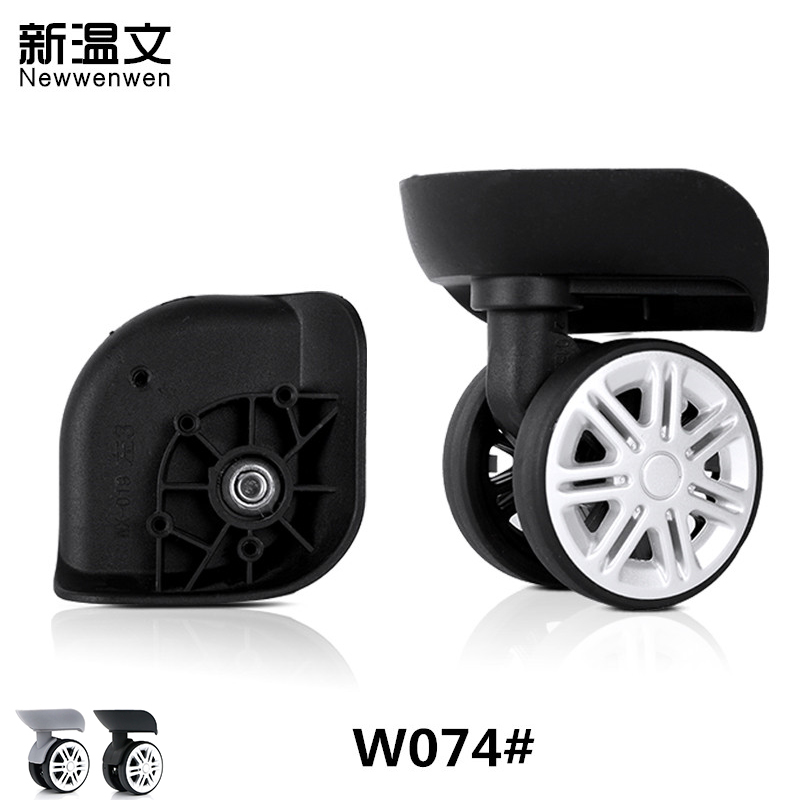 Luggage Suitcase Replacement Wheels,Repair Travel Trolley Suitcase Wheels Accessories,Replacement Wheels for luggage W074# high quality replacement luggage wheels travel suitcase wheels black repair replacement wheels for luggage suitcases wheels d047