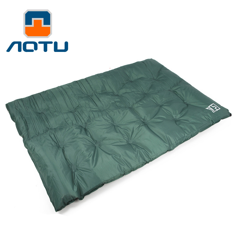 цена на Outdoor Double thick automatic inflatable cushion pad outdoor tent camping mats double inflatable bed mattress