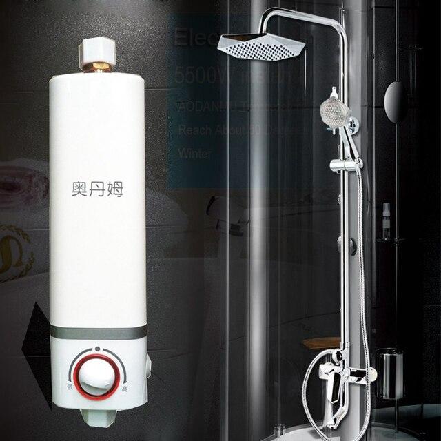 Obral Tankless Pemanas Air Rumah Tangga Mini Listrik Instan Panas Mandi Kran