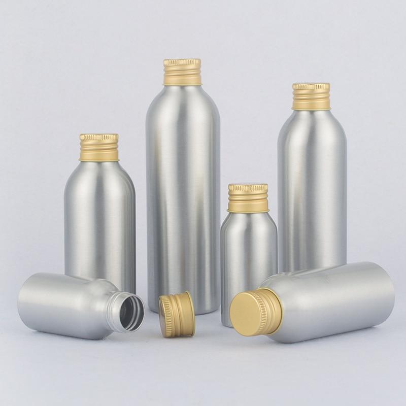40ml-250ml Aluminum Bottle For Cleaning Agent,Pinchbeck Aluminum Cover Bottle