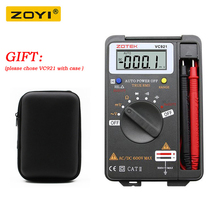 ZOYI VC921 3 Professional Digital Multimeter 550V Automatic Range Handheld Multimeter Voltage Capacitance Diode Test Instrument f47t automatic protective multimeter measurement automatically protect any file by mistake