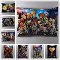 Anime Manga Kingdom Hearts 40*60cm Pillow Case Cover Seat Bedding Cushion 001