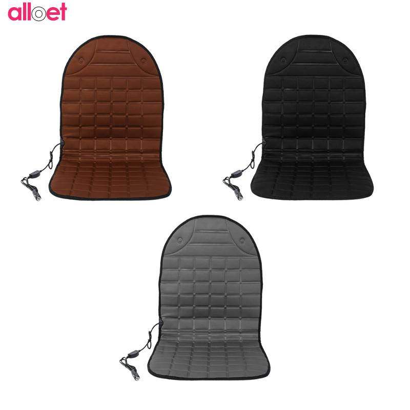 Universal 12V Cushion Cover Winter Warm Hot Auto Heated Warmer Pad Heating Seat Cushion Back Support Car home office Automobiles 12v electric car heated seat cushion cover auto heating heater warmer pad winter car seat cover supplies hight quality
