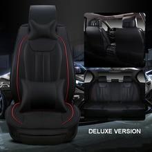 Luxus leder auto sitzbezug universal sitzbezüge für RENAULT Duster Clio Megane Laguna autos kissen auto zubehör stil