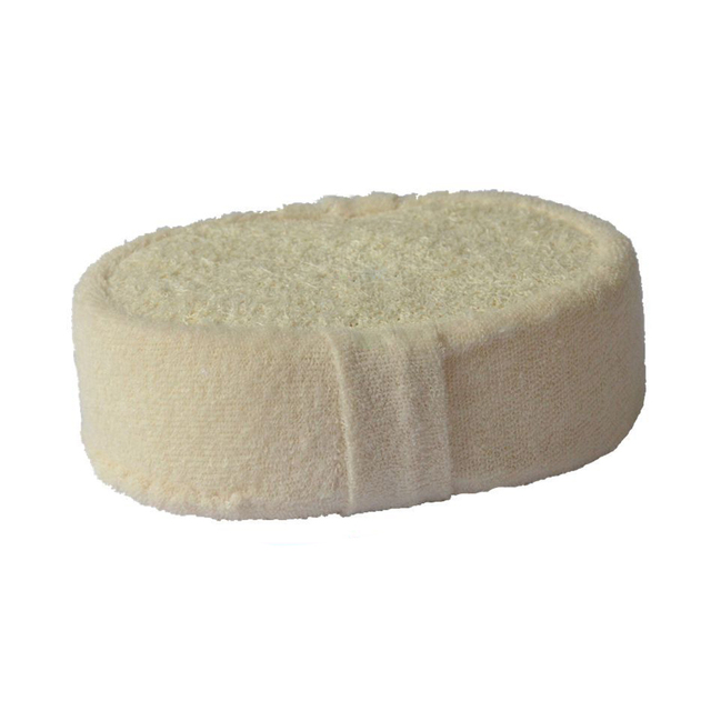 Natural Loofah Sponge Bath Ball Shower Rub Bath Shower Wash Body Pot Sponge Scrubber Durable Healthy Massage Brush 4