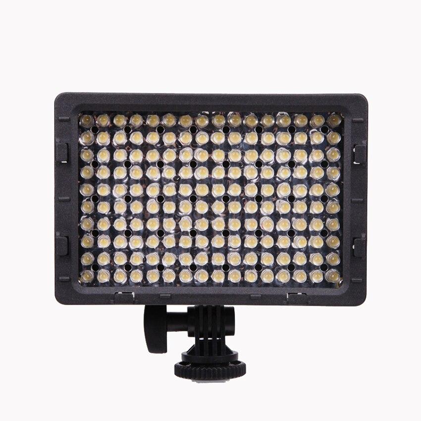 CN-160 LED caméra vidéo lumière 5600 K CRI 95 Pro panneau de lampe Dimmable photographie Studio lumière pour DSLR caméra DV caméscope numérique