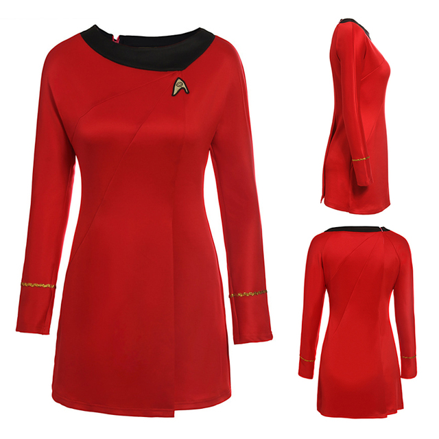 adult womens halloween party costume dress Star Trek Costume Cosplay Female blue Red Uniform Halloween Party  sc 1 st  AliExpress.com : star trek costume dress  - Germanpascual.Com