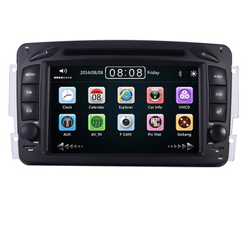 "2din 7"" CAR DVD PLAYER For Mercedes Benz W209 W203 W168 W463 Viano W639 Vito Vaneo 3g GPS BT Radio USB SD Canbus Free 8GB Map"