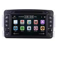 "2din 7"" CAR DVD PLAYER For Mercedes Benz W209 W203 W168 W463 Viano W639 Vito Vaneo 3g GPS BT Radio USB SD Canbus Free 8GB Map"