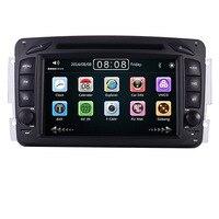 2din 7 CAR DVD PLAYER For Mercedes Benz W209 W203 W168 W463 Viano W639 Vito Vaneo 3g GPS BT Radio USB SD Canbus Free 8GB Map