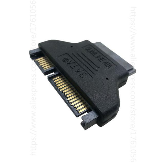 22Pin To 16Pin Micro SATA Adapter 7 15 Serial ATA Male 9 Female Adapters Connector Converter