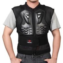 Мужская мотоциклетная безрукавная куртка Armors для мотокросса, рыцарская защита для езды по бездорожью, бронированная куртка, защита на спине, M-3XL