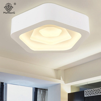 Acrylic Ceiling Lights Modern LED Flower Simple Design Contemporary AC Smart Lamps For Parlor Hall Home