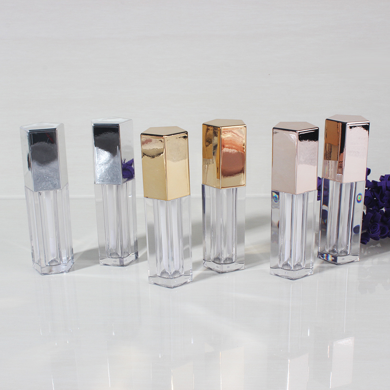 4.5ML 20pcs/lot.50pcs/lot Five-sided Diamond Cap Lip Gloss Bottlle.Plastic High Class Lipstick Packing Bottle, Cosmetic Tube 20pcs lot 30wq04fn to252