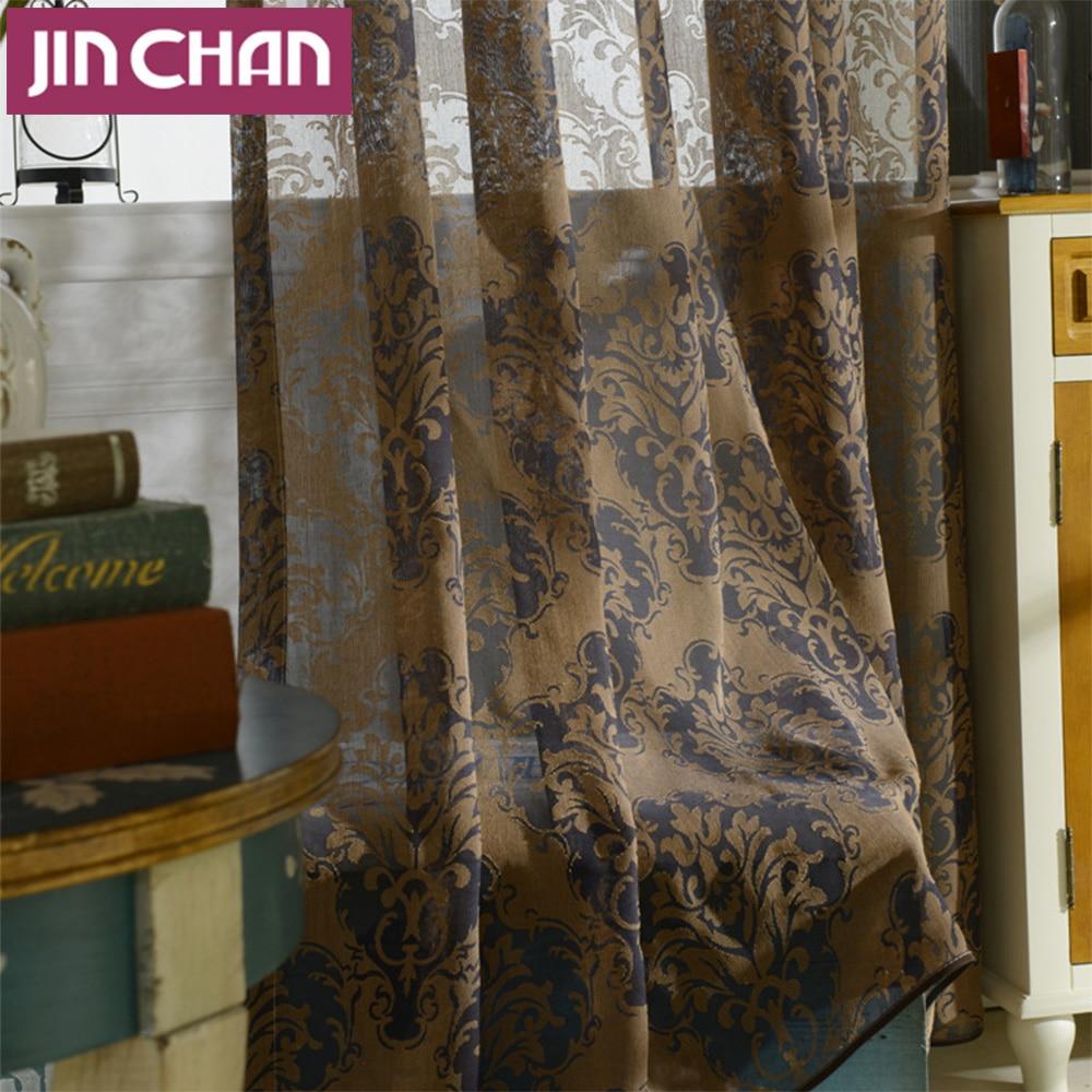Online kopen wholesale designer sheer gordijnen uit china designer ...