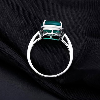 db24b4764 Green Agate Wedding & Engagement Ring Sterling SilverJewelry - Jewelry  HandBook