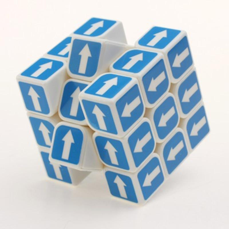 Arrow 3x3x3 Magic Cubes Plastic High Performance Game Educational Kids Toys Anti stress Puzzle Cube Toys