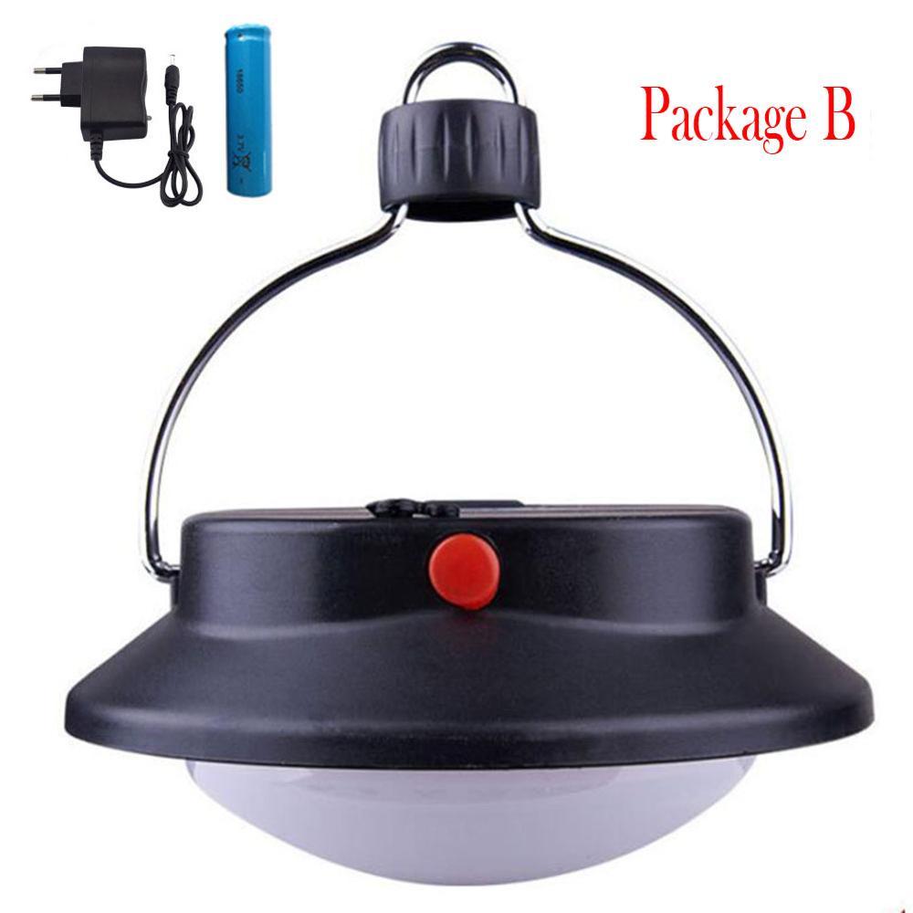 3 Modes Portable Hanging 3 LED Tent Camping Light Garden Fishing Lantern Lamp UK